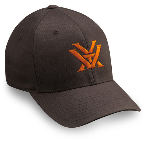 Vortex Flex Fit Cap (Brown, Large/Extra Large)