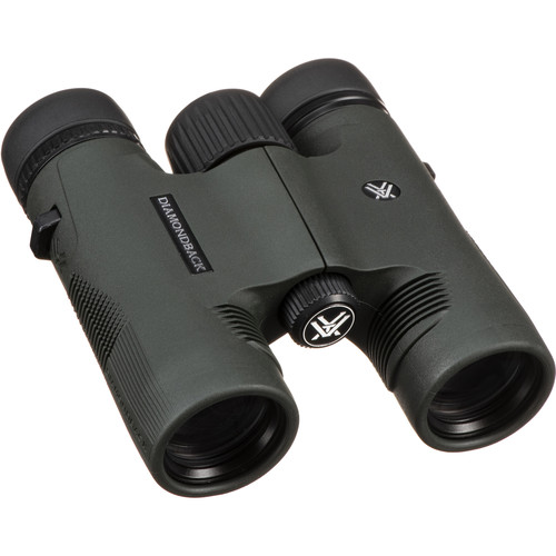 Vortex 10x28 Diamondback Binocular (Green/Black)