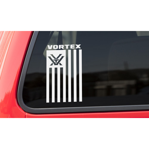 Vortex Nation Flag Window Decal (Vertical)