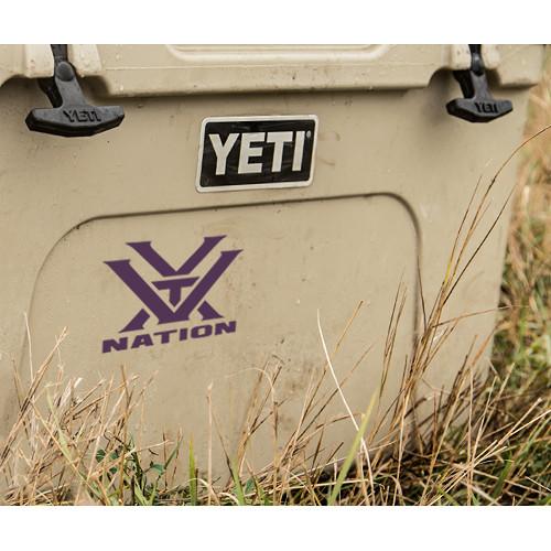 Vortex Nation Window Decal (Purple)