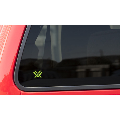 Vortex Toxic Green Window Decal (Small)