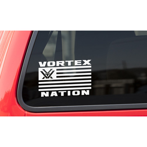 Vortex Nation Flag Window Decal (Horizontal)