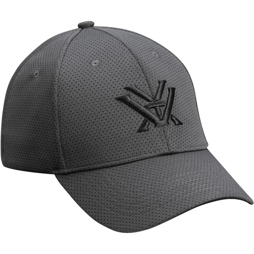 Vortex Gray Fitted Cap (Large/Extra Large)