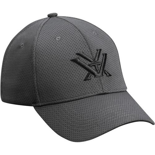 Vortex Gray Fitted Cap (Small/Medium)