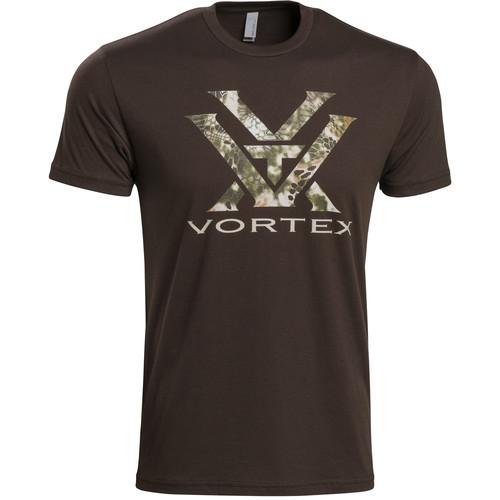 Vortex Kryptek T-Shirt (S, Brown with Highlander Camo)