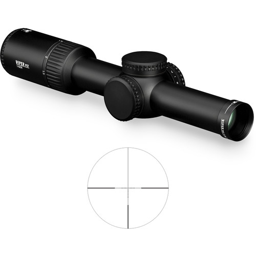 Vortex 1-6x24 Viper PST Gen II Riflescope (VMR-2 MOA Illuminated Reticle, Matte Black)