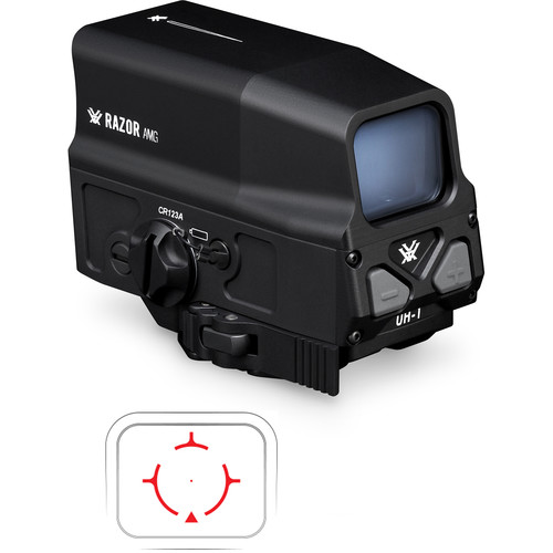 Vortex Razor AMG UH-1 Holographic Sight (1 MOA Red Dot Reticle, Matte Black)