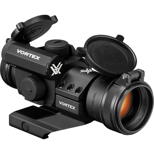 Vortex 1x30 StrikeFire II Bright Red Dot Sight with Cantilever Mount