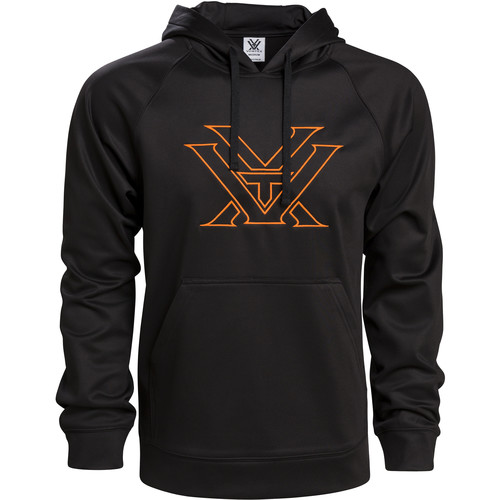 Vortex Orange Performance Hoodie (L)