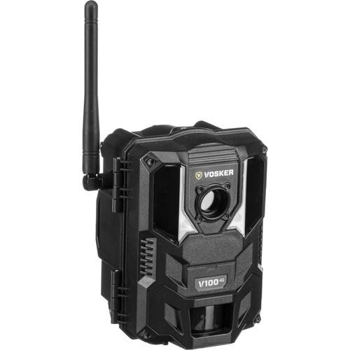 VOSKER V100-V 1080p 4G Cellular Outdoor Security Camera with Night Vision (Verizon)