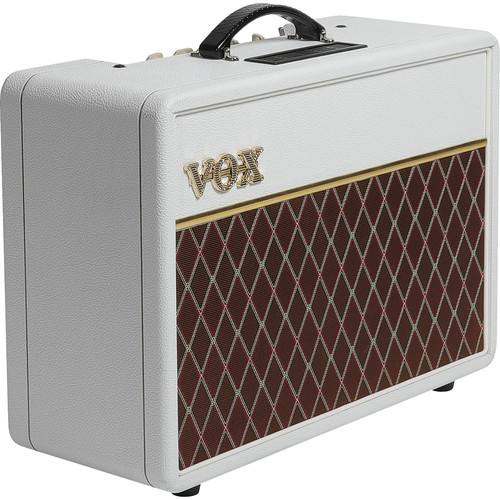 VOX AC10C1 Custom Limited Edition 10W Tube Combo Amplifier (White Bronco)