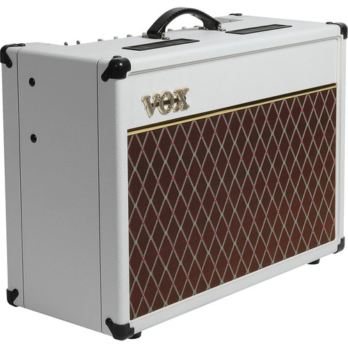 VOX AC15C1WB Custom 15W 1x12 Combo Amplifier (Celestion Creamback Speaker, Limited Edition White Bronco)