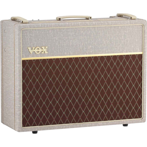 VOX AC30HW2X Hand-Wired 2x12 Combo Amplifier (Celestion Alnico Blue Speakers)