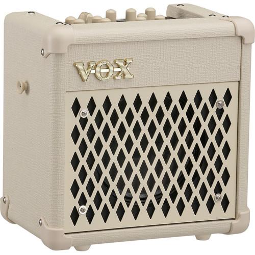 VOX MINI5 Rhythm Modeling Guitar Amplifier (White)