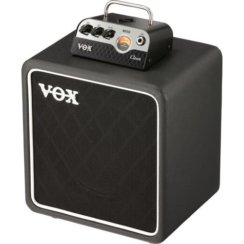 VOX MV50 Clean Set Amplifier Head and Speaker Cabinet Bundle