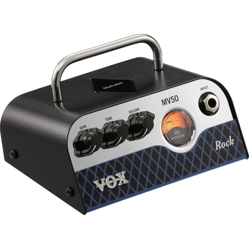 VOX MV50 Rock 50W Amplifier Head with Nutube Preamp Technology