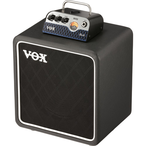 VOX MV50 Rock Set Amplifier Head and Speaker Cabinet Bundle