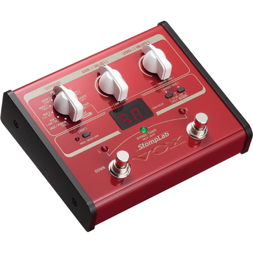 VOX StompLab IB Modeling Bass Effect Processor Pedal