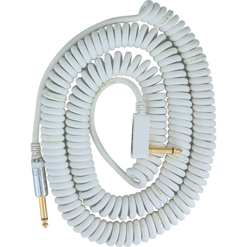 VOX VCC Vintage Coiled Cable (29.5', White)