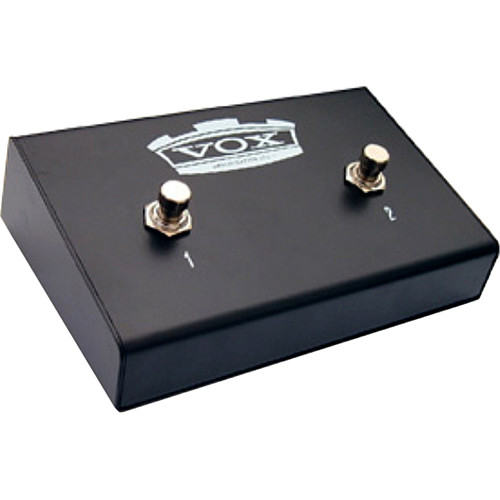 VOX VFS-2 Dual Footswitch for Select Valve Reactor/AC Custom/Night Train G2 Series Amplifiers