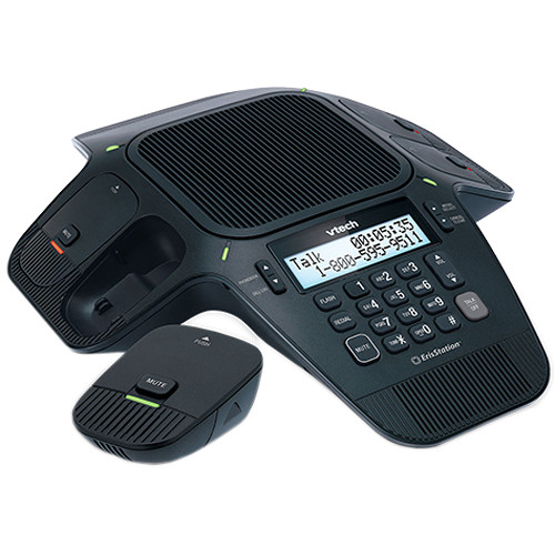 VTech ErisStation Conference Phone with Four Wireless Mics