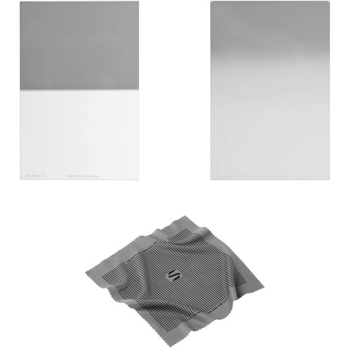 Vu Filters 100 x 150mm Sion Q Soft and Hard-Edge Graduated Neutral Density 0.3 Filter Kit (1 Stop)