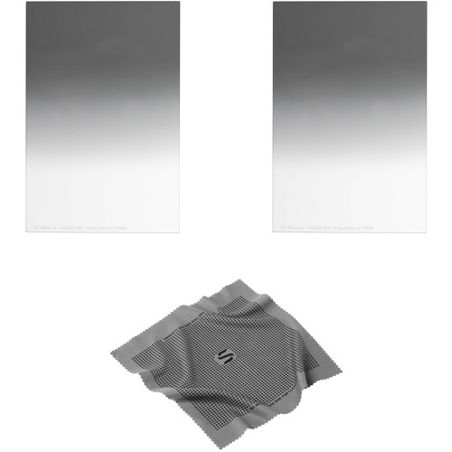 Vu Filters 100 x 150mm Sion Q Soft and Hard-Edge Graduated Neutral Density 0.75 Filter Kit (2.5 Stops)
