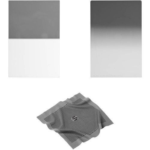 Vu Filters 100 x 150mm Sion Q Soft and Hard-Edge Graduated Neutral Density 0.6 Filter Kit (2 Stops)