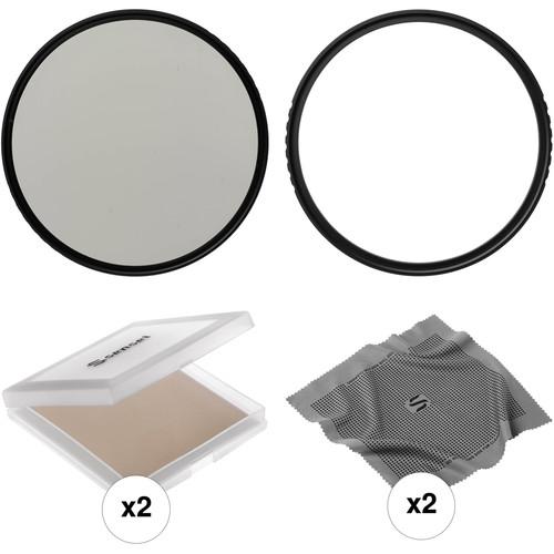 Vu Filters 105mm Sion UV and Slim Circular Polarizer Filter Kit