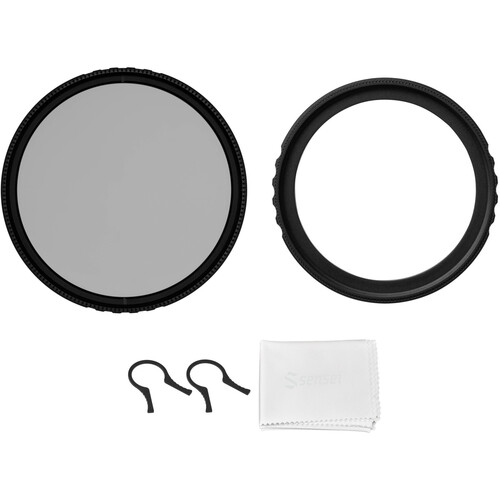Vu Filters 37mm Ariel UV and Circular Polarizer Filter Kit