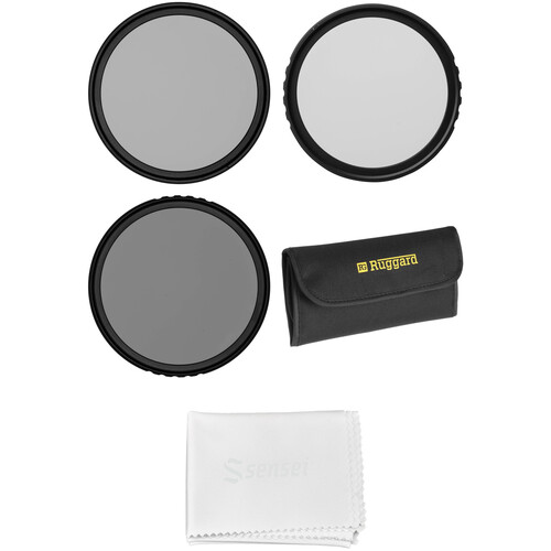 Vu Filters 49mm Sion Circular Polarizer and Solid Neutral Density Filter Kit