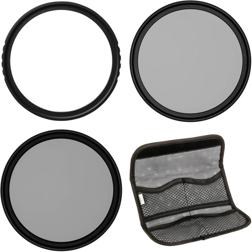 Vu Filters 52mm Sion UV, Circular Polarizer, and Variable Neutral Density Filter Kit