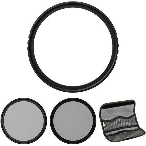 Vu Filters 55mm Sion UV, Circular Polarizer, and Variable Neutral Density Filter Kit