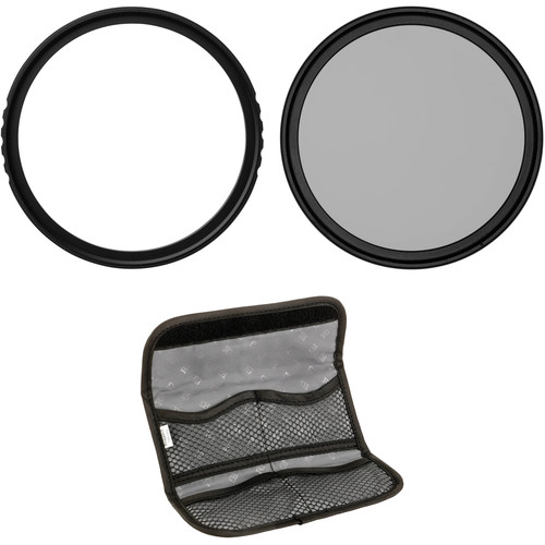Vu Filters 58mm Sion UV, Circular Polarizer, and Variable Neutral Density Filter Kit