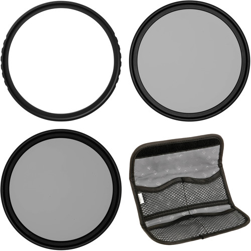Vu Filters 62mm Sion UV, Circular Polarizer, and Variable Neutral Density Filter Kit