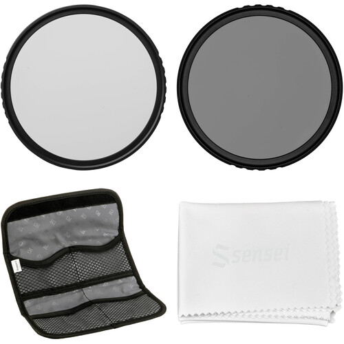 Vu Filters 67mm Sion Solid Neutral Density Filter Kit (1, 2, and 3 Stops)