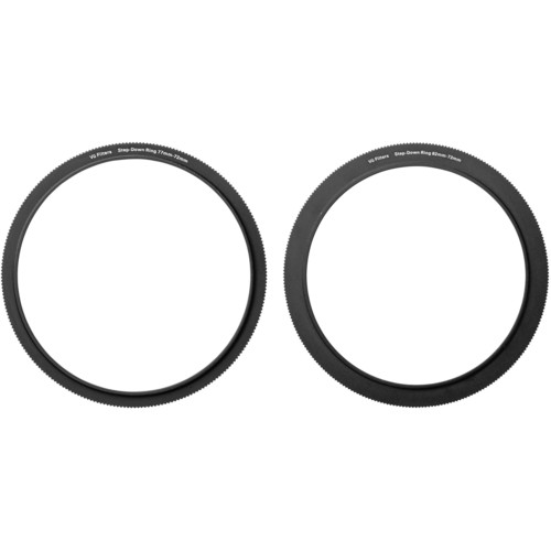 Vu Filters 72-77mm and 72-82mm Step-Up Ring Kit