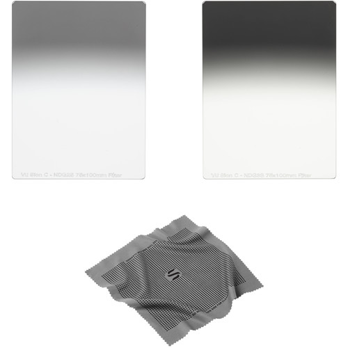 Vu Filters 75 x 100mm Sion C Soft-Edge Graduated Neutral Density 0.6 and 0.9 Filter Kit (2 and 3 Stops)