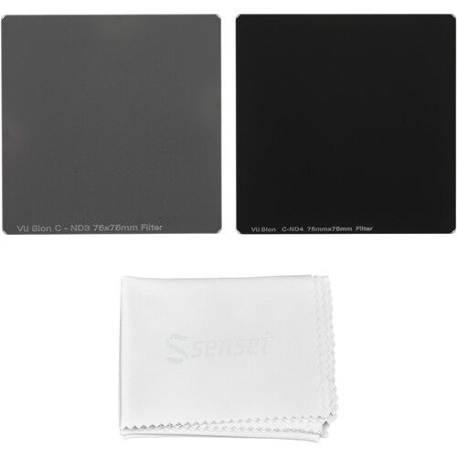 Vu Filters 75 x 75mm Sion C Neutral Density 0.9 and 1.2 Filter Kit (3 and 4 Stops)