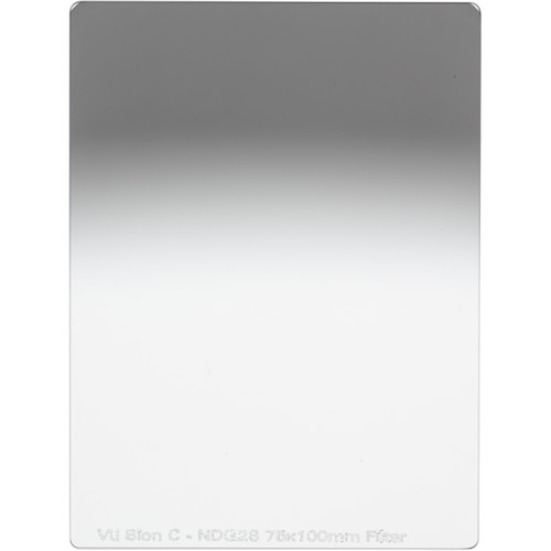 Vu Filters Sion C 75 x 100mm Graduated Neutral Density Filter - Soft Edge (0.6)