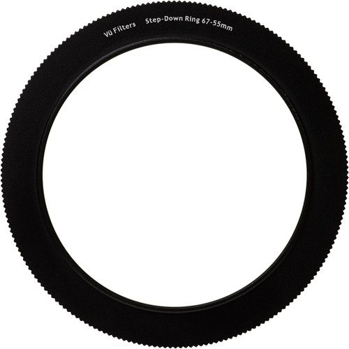 Vu Filters 67-55mm Step Ring for VFH75 75mm Professional Filter Holder Mounting Ring