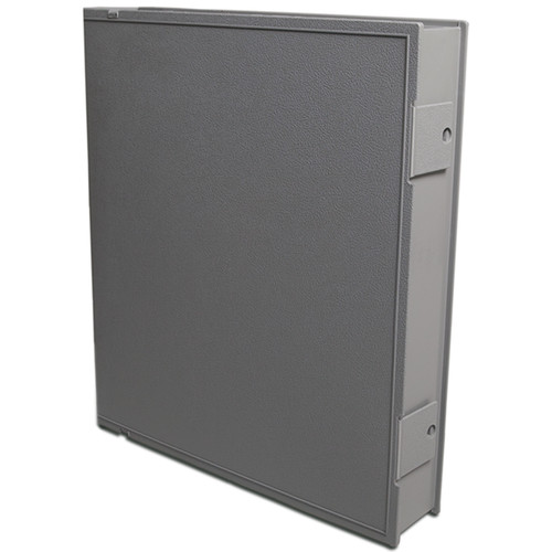 "Vue-All Archival Safe-T-Binder with 1"" O-Ring (Gray)"