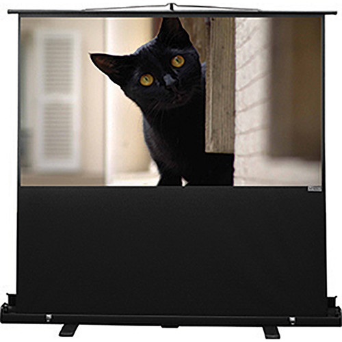 "Vutec CPR044-070MWB Consort Porta-Vu Riser 44 x 70"" Portable Projection Screen"
