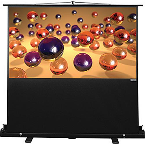 """Vutec CPT039-070MWB Consort Porta-Vu Traveler 39 x 70"""" Portable Projection Screen"""