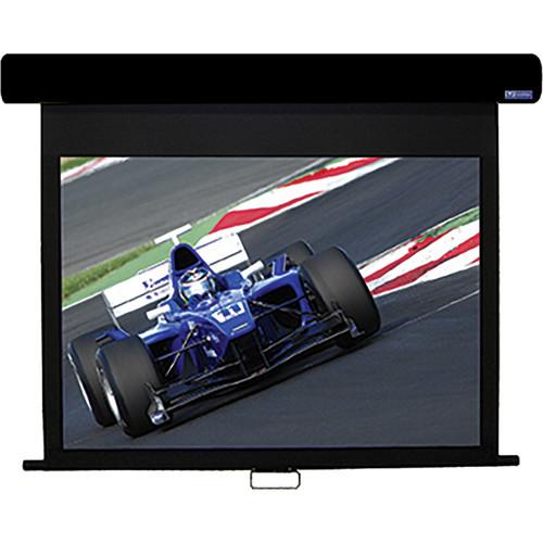 """Vutec HD3080-128MWB HD III 80"""" x 128"""" Manual Screen (Black)"""
