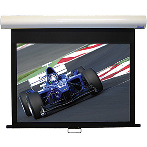 "Vutec HD3086-138MWW HD III 86.50"" x 138.50"" Manual Screen (White)"