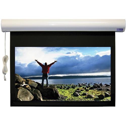 "Vutec L1RF060-096MWW1 Lectric I RF 60 x 96"" Motorized Screen (White, 120V)"
