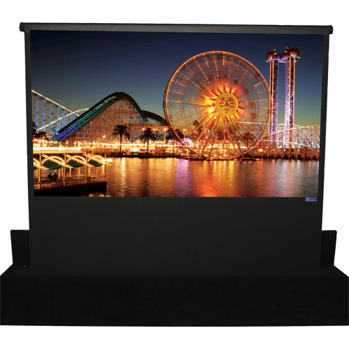 "Vutec RETR096-128201 96 x 128"" Retracta-Vu Pro Motorized Rising Arm Projection Screen"