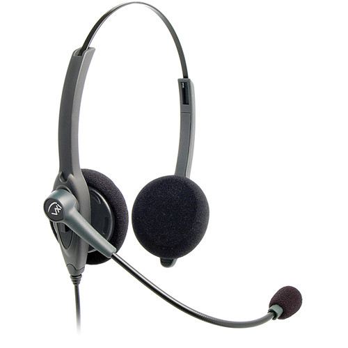 VXi Passport 21 V DC Single-Wire Binaural Headset