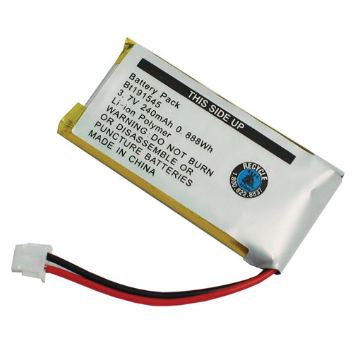 VXi 3.7V Replacement Battery for V150/V100 Wireless Headsets (240mAh)